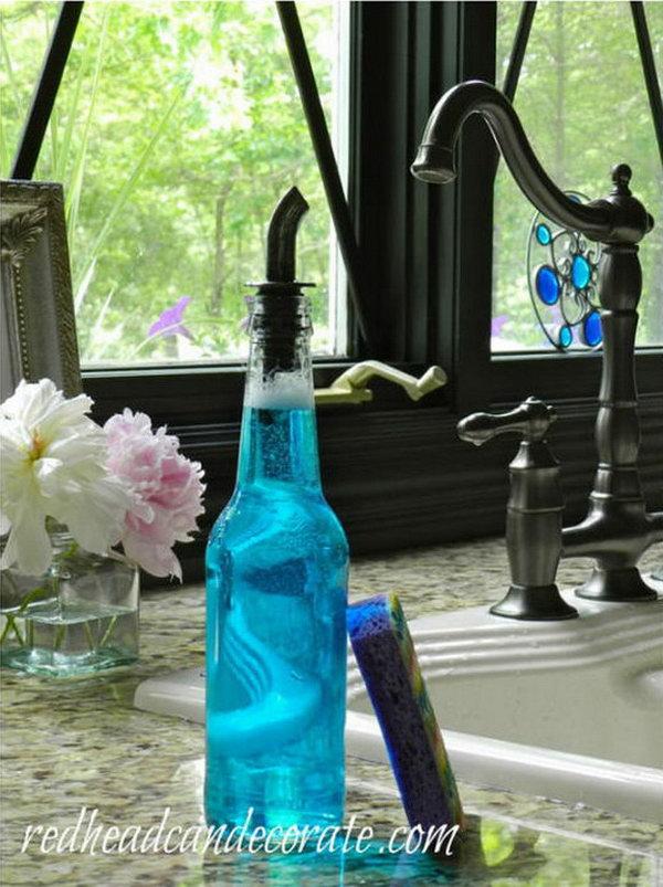 16 Beer Bottle Soap Dispenser