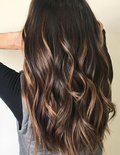 16 Fashionable Balayage Hair Color Ideas For Brunettes