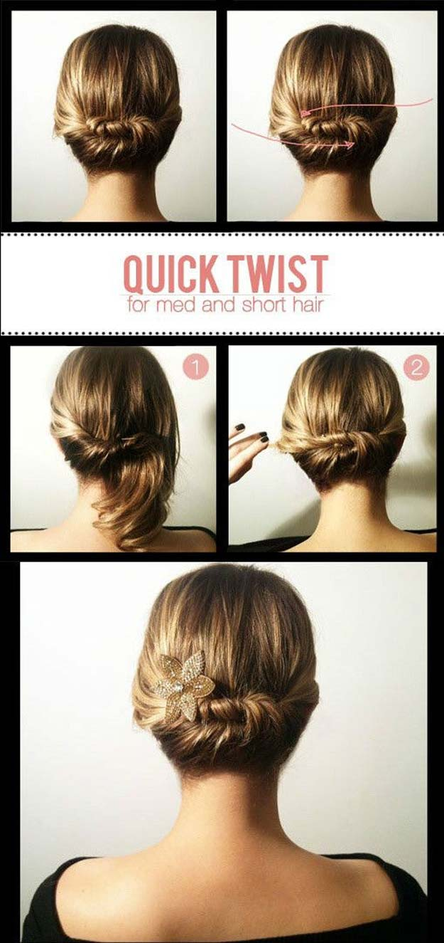 16 Quick And Easy Hairstyle For Busy Women