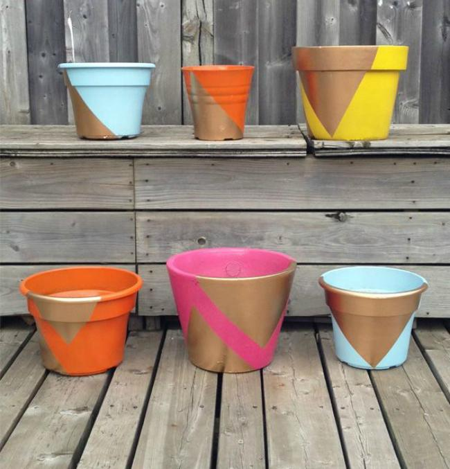 16 painted-planters
