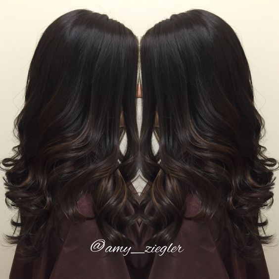 17 Fashionable Balayage Hair Color Ideas For Brunettes
