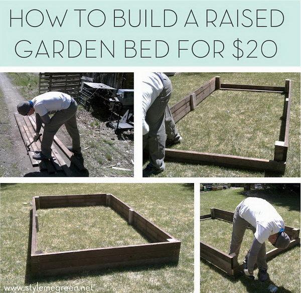 18 Budget Friendly Raised Garden Bed