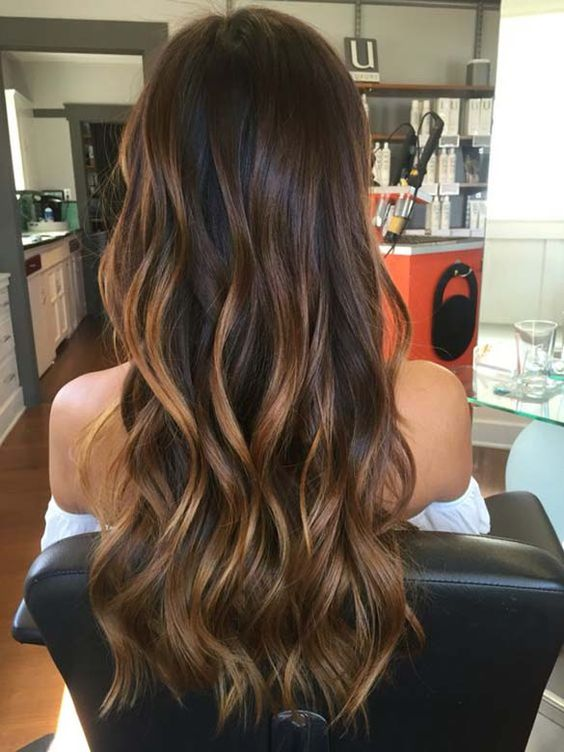 18 Fashionable Balayage Hair Color Ideas For Brunettes