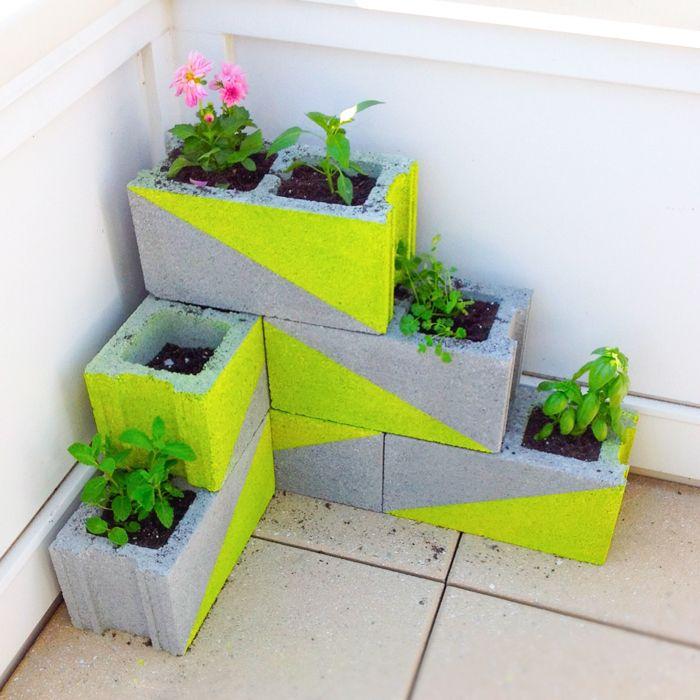 18 cinderblock-planter