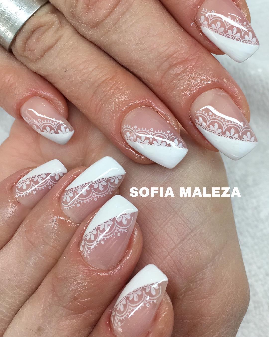 18 romantic nail designs ideas