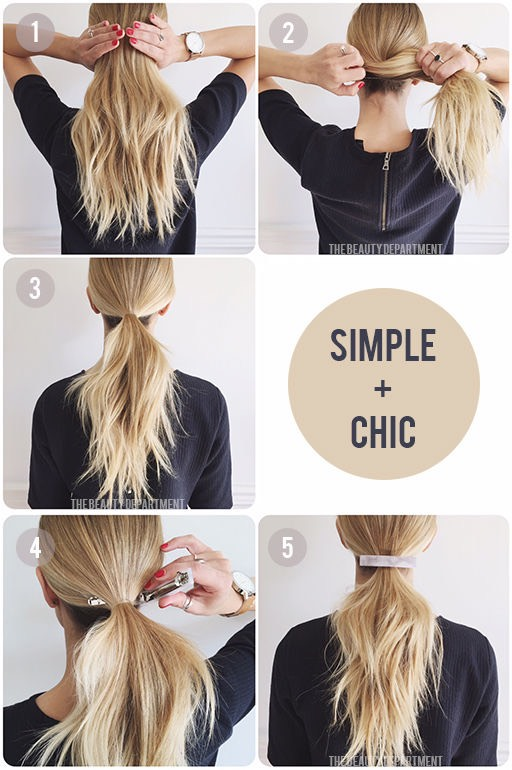 19 Quick And Easy Hairstyle For Busy Women