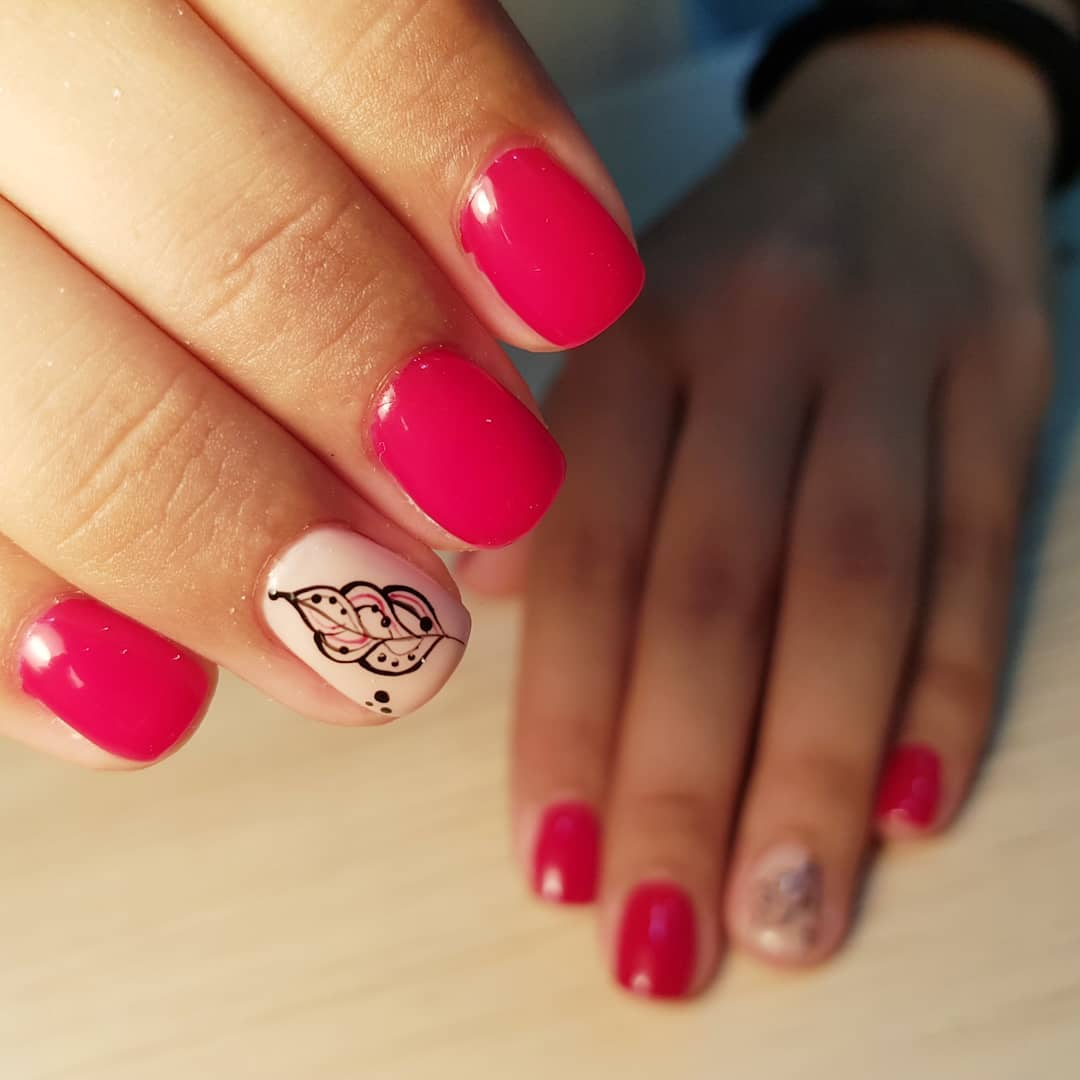 19 romantic nail designs ideas
