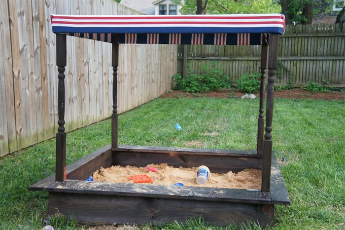 2 Cheap and Easy DIY Sandbox Ideas with Tutorials