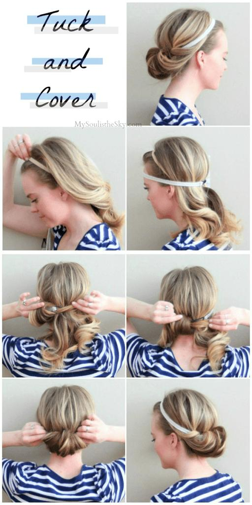 2 Quick And Easy Hairstyle For Busy Women