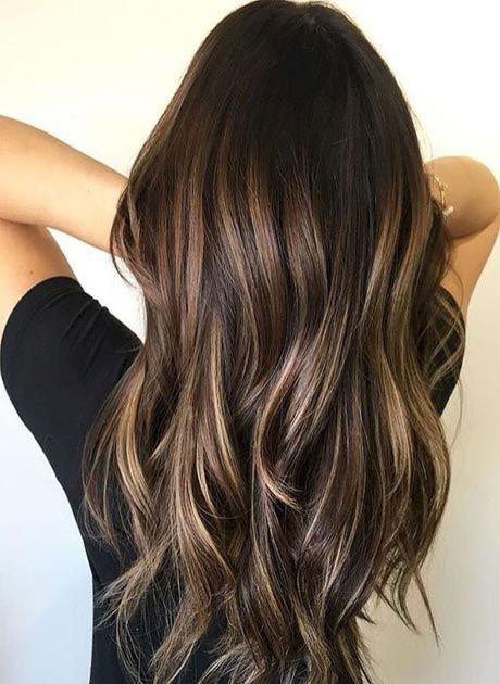 20 Brunette Balayage Hair Color Ideas
