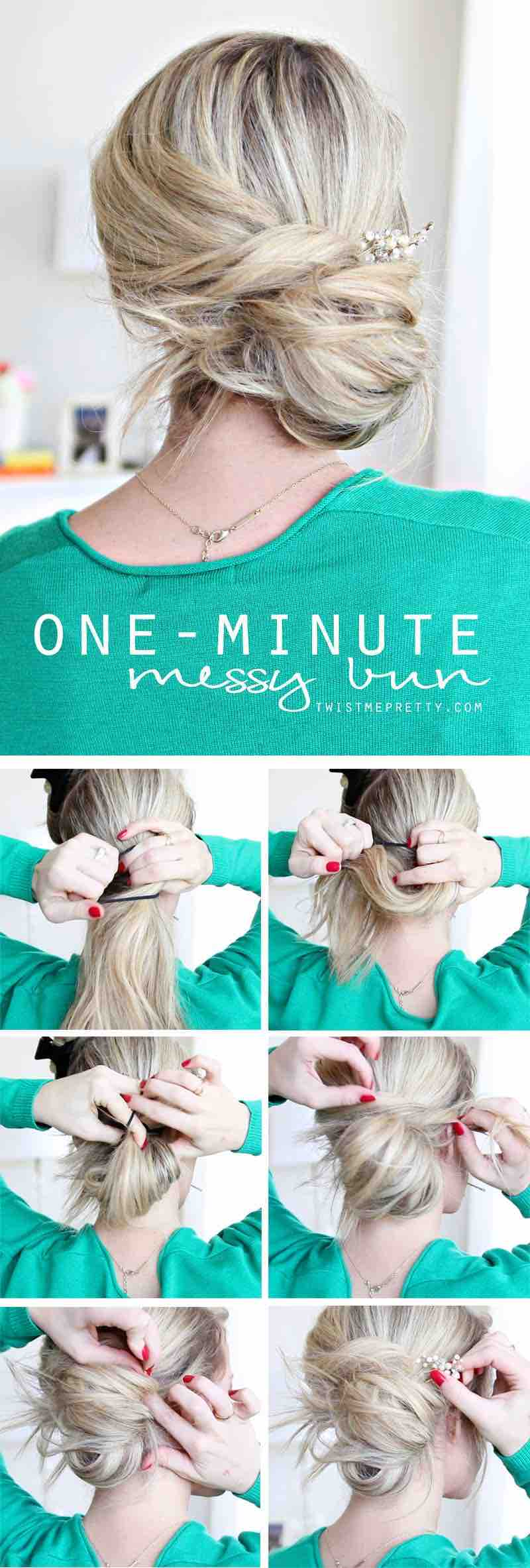 20 Quick And Easy Hairstyle For Busy Women