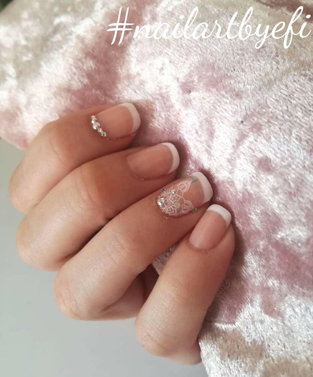 21 romantic nail designs ideas