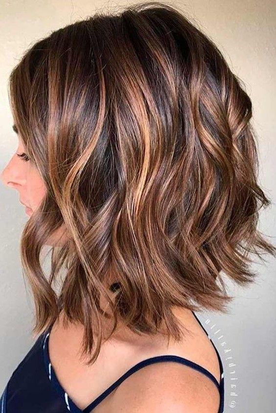 26 Brunette Balayage Hair Color Ideas