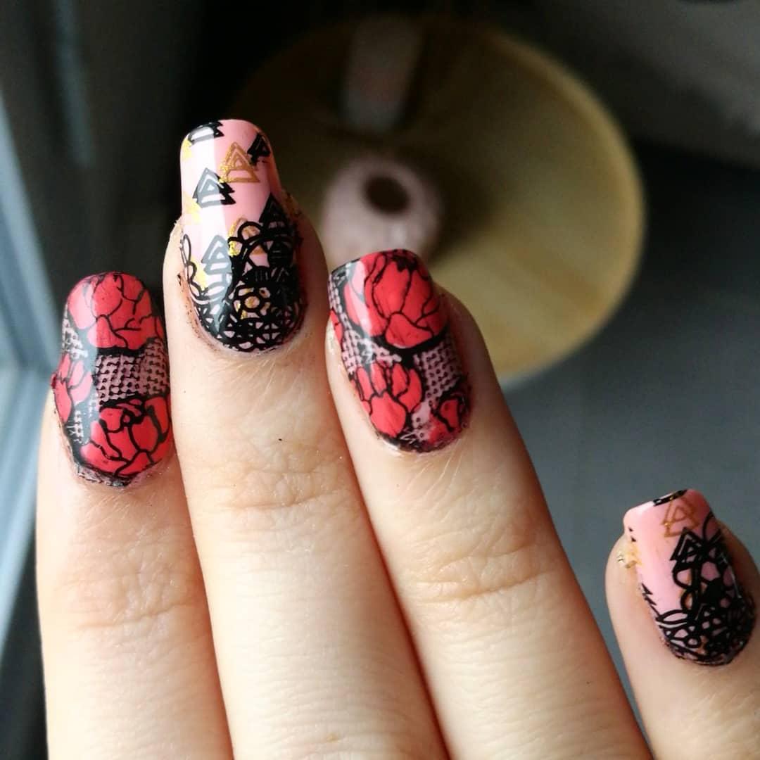 27 romantic nail designs ideas