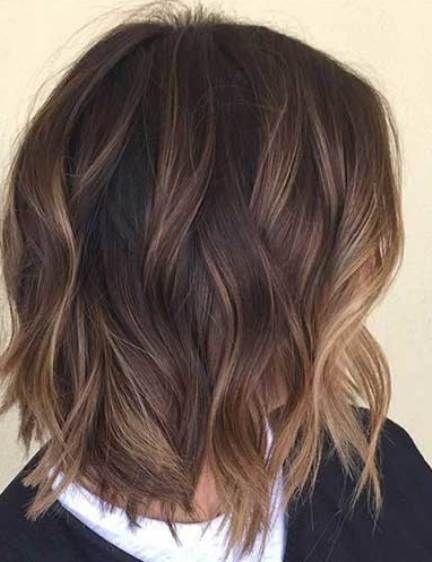 28 Brunette Balayage Hair Color Ideas