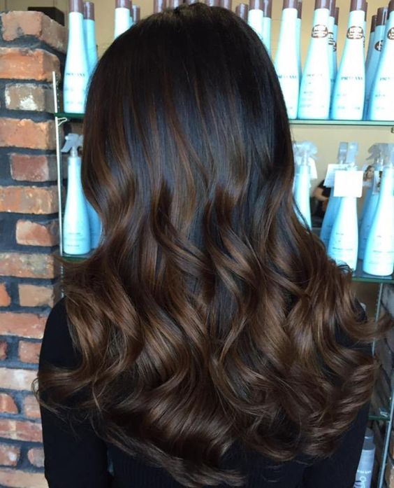 28 Fashionable Balayage Hair Color Ideas For Brunettes