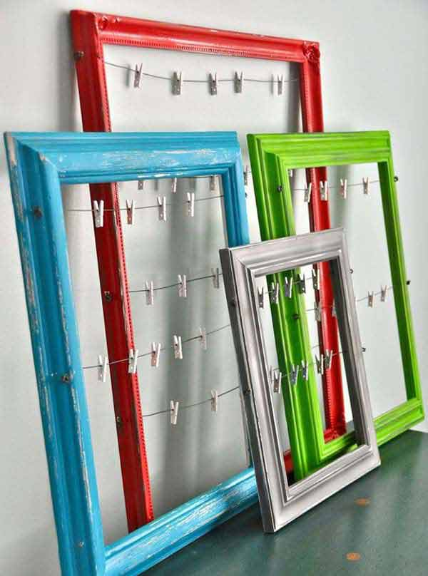 29 Awesome Things You Can Make With Dollar Store Picture Frames