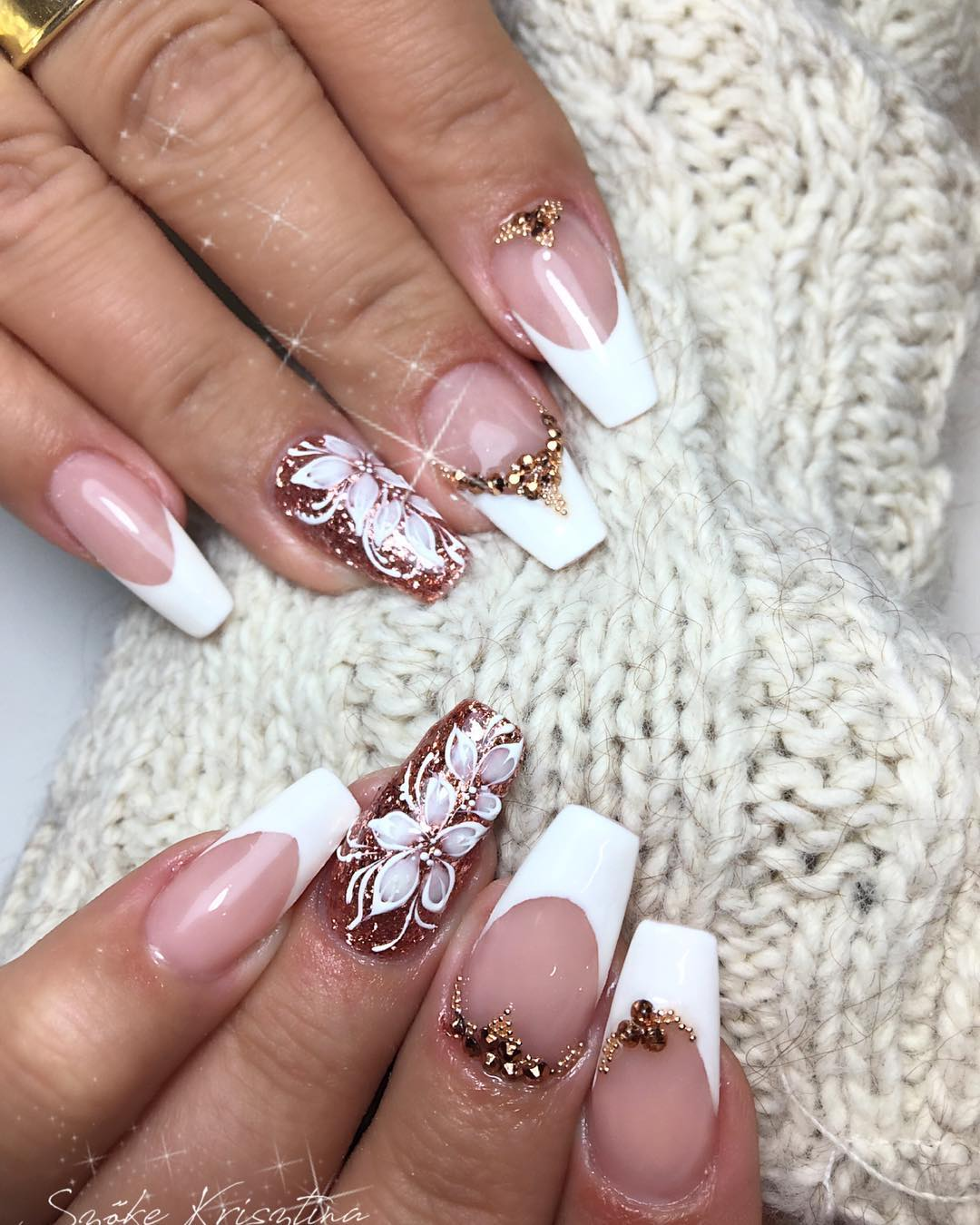3 romantic nail designs ideas