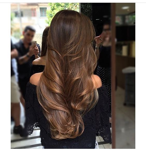 30 Fashionable Balayage Hair Color Ideas For Brunettes