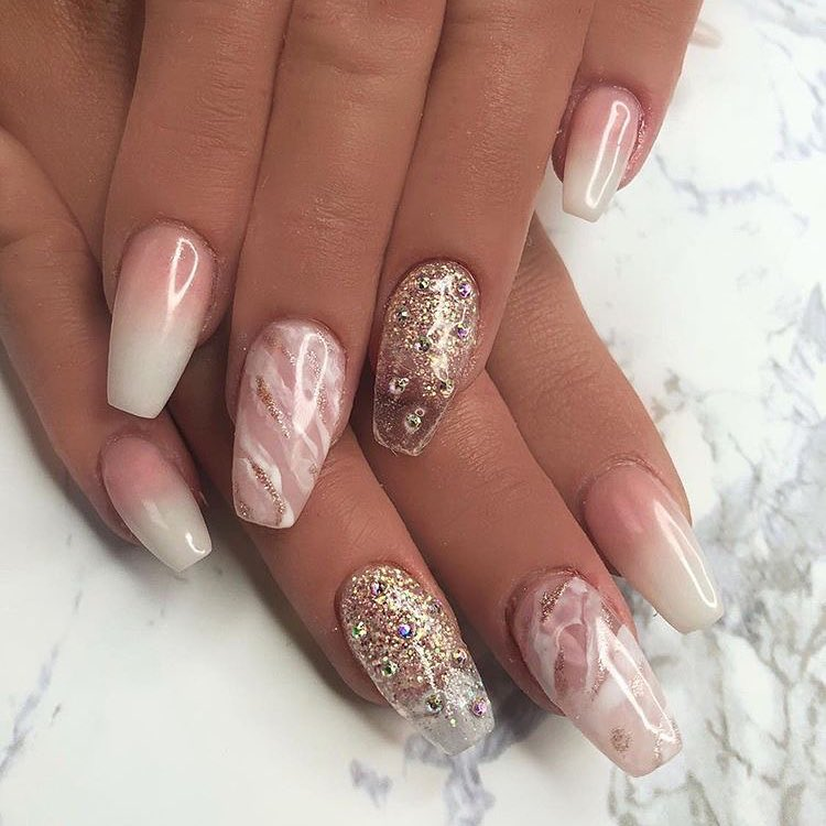30 romantic nail designs ideas