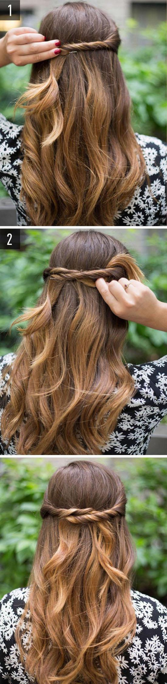 32 Quick And Easy Hairstyle For Busy Women