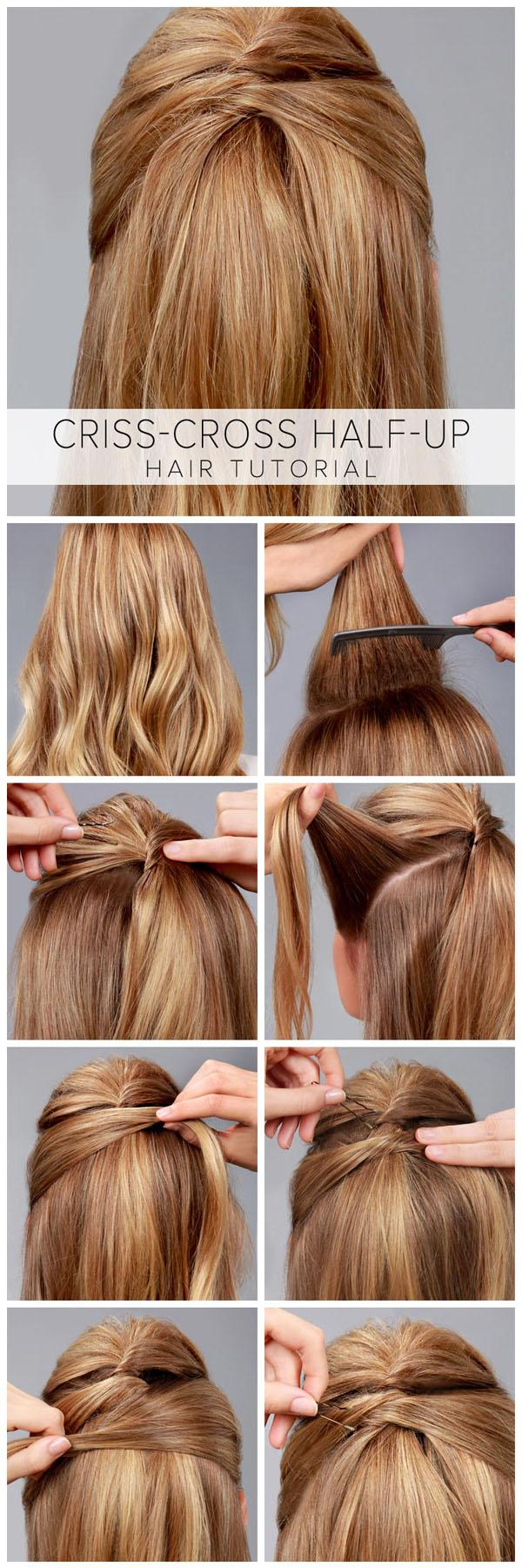 33 Quick And Easy Hairstyle For Busy Women