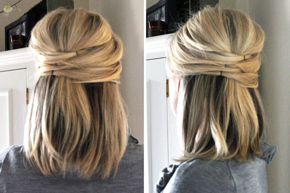 34 Quick And Easy Hairstyle For Busy Women