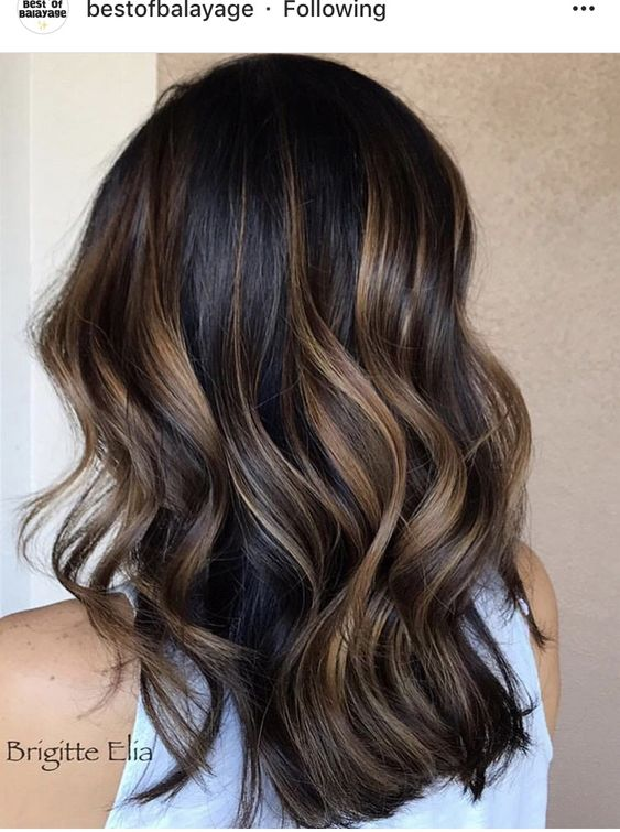 35 Fashionable Balayage Hair Color Ideas For Brunettes