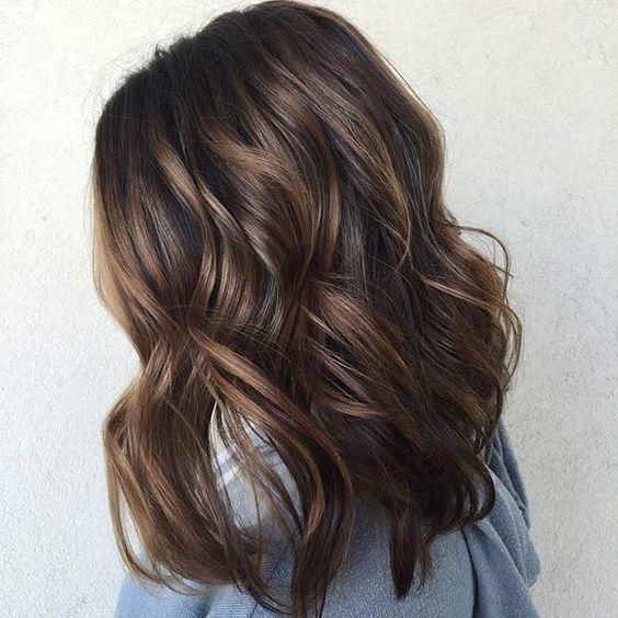 37 Fashionable Balayage Hair Color Ideas For Brunettes