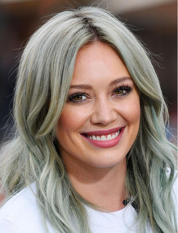 Medium Hairstyles for Grey Hair
