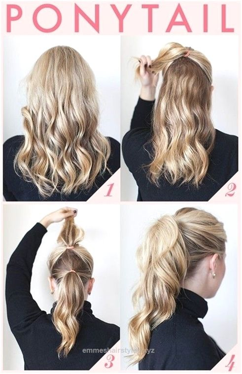 4 Quick And Easy Hairstyle For Busy Women