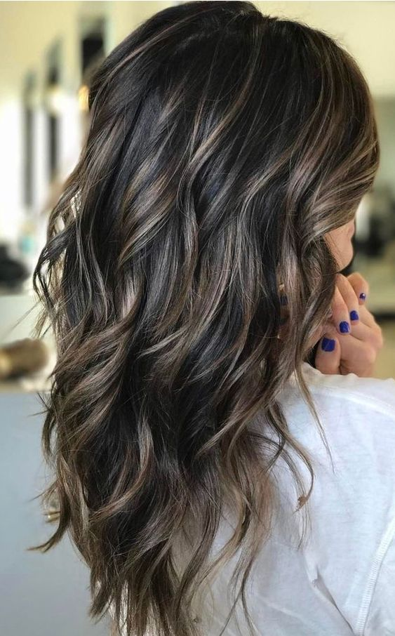 43 Fashionable Balayage Hair Color Ideas For Brunettes
