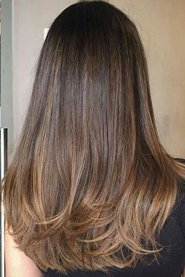 44 Fashionable Balayage Hair Color Ideas For Brunettes