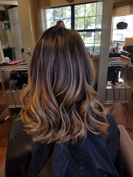 45 Fashionable Balayage Hair Color Ideas For Brunettes
