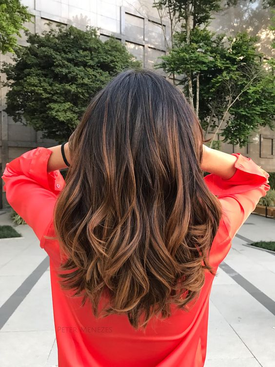 46 Fashionable Balayage Hair Color Ideas For Brunettes