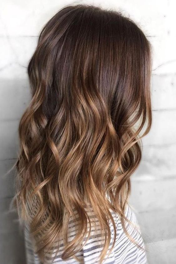 47 Fashionable Balayage Hair Color Ideas For Brunettes