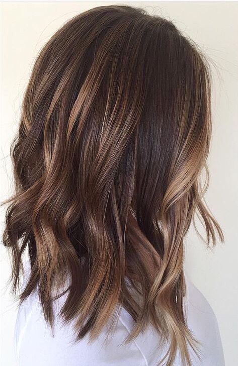 48 Fashionable Balayage Hair Color Ideas For Brunettes