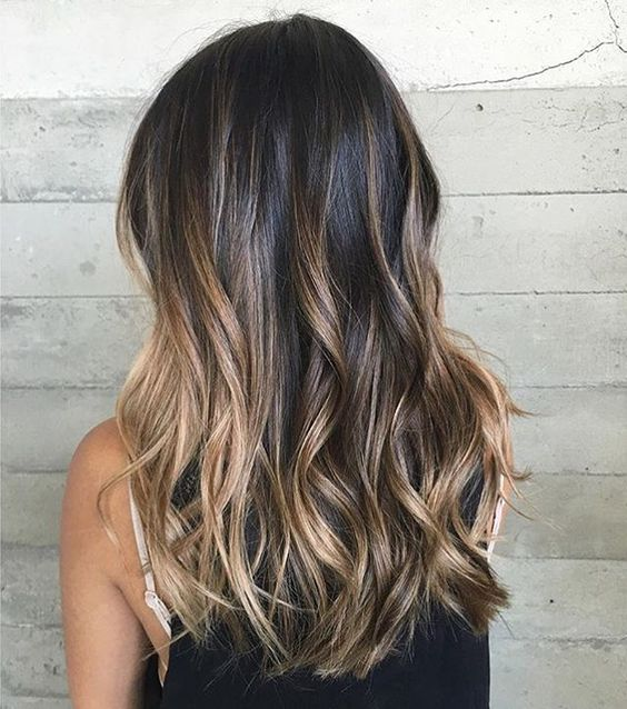 49 Fashionable Balayage Hair Color Ideas For Brunettes
