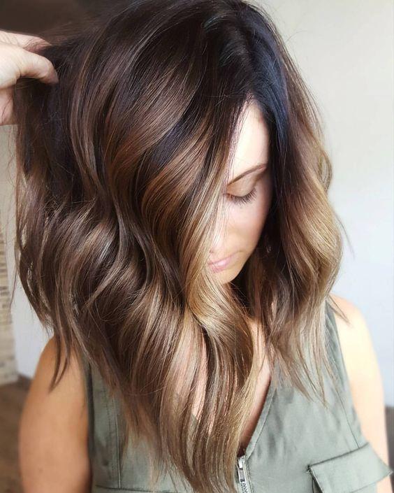 5 Brunette Balayage Hair Color Ideas