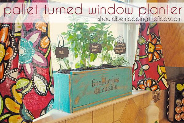 5 Kitchen Herb Planter Box