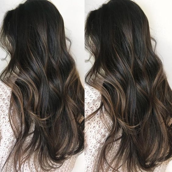 50 Fashionable Balayage Hair Color Ideas For Brunettes