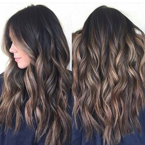 54 Fashionable Balayage Hair Color Ideas For Brunettes