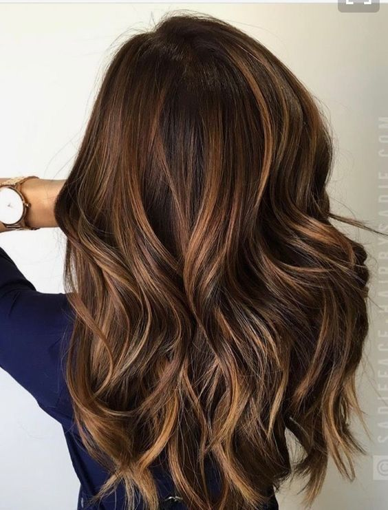 55 Fashionable Balayage Hair Color Ideas For Brunettes