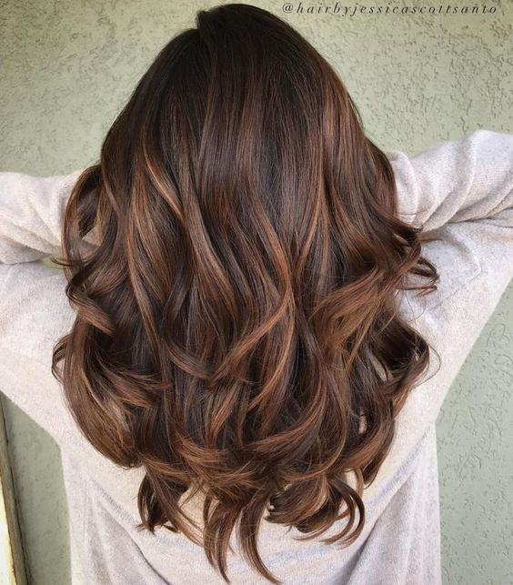58 Fashionable Balayage Hair Color Ideas For Brunettes