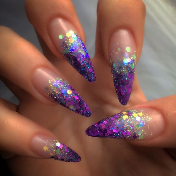 59 Cool Stiletto Nail Designs