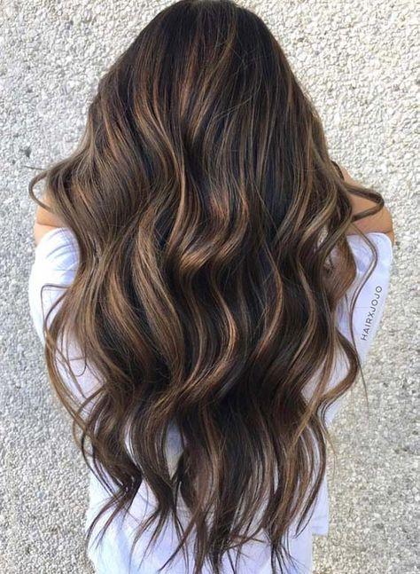 6 Brunette Balayage Hair Color Ideas