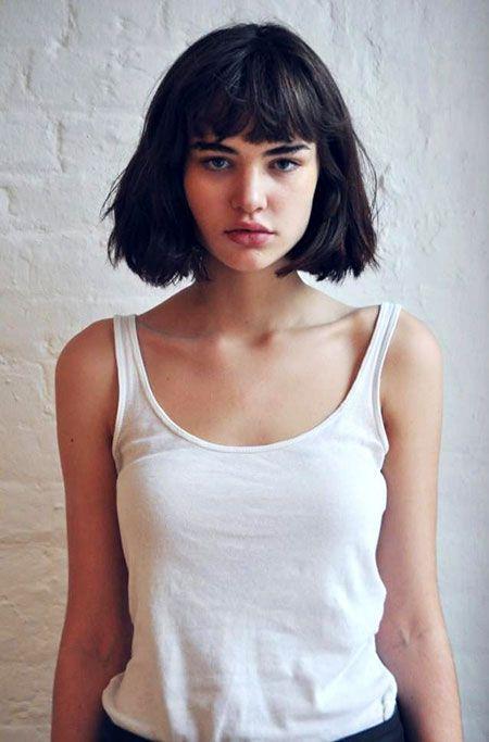 6 Super Short Haircuts with Bangs