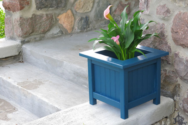 7 Unique   DIY Planter Ideas For Your Front Porch