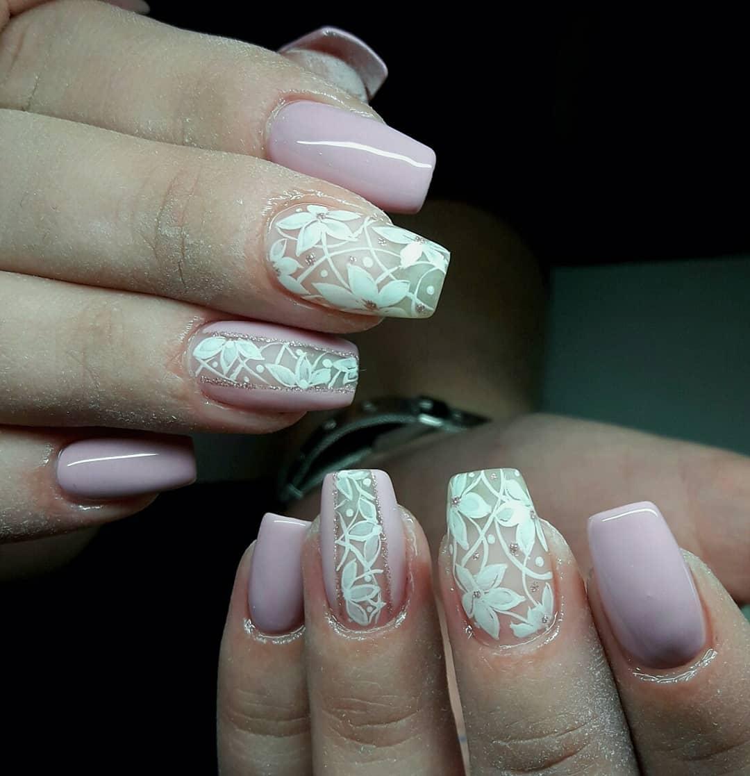 7 romantic nail designs ideas