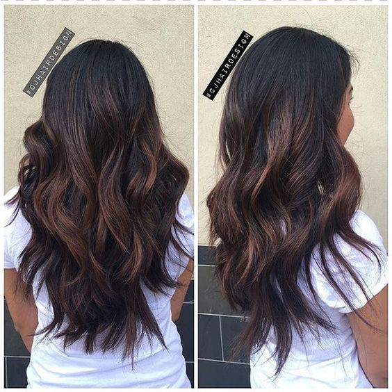 9 Fashionable Balayage Hair Color Ideas For Brunettes